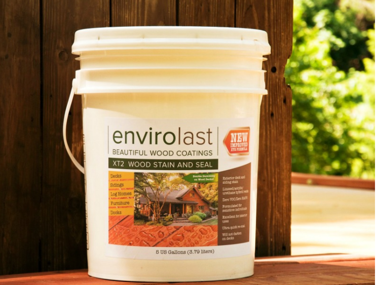 Envirolast Tribrid Stain and Seal Pro UV - 5 Gallon